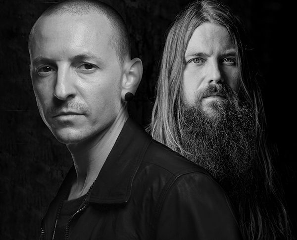 Chester Bennington & Mark Morton
