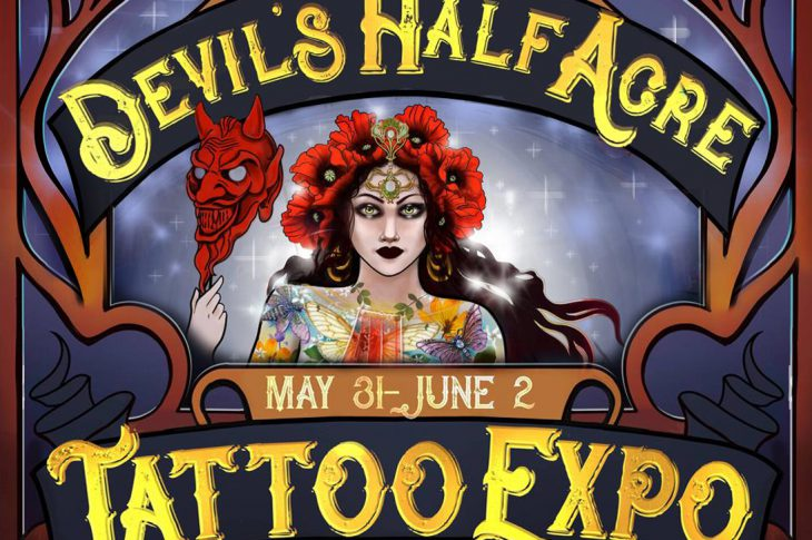 Devil's Half Acre Tattoo Expo Banner - May 31 to June 2
